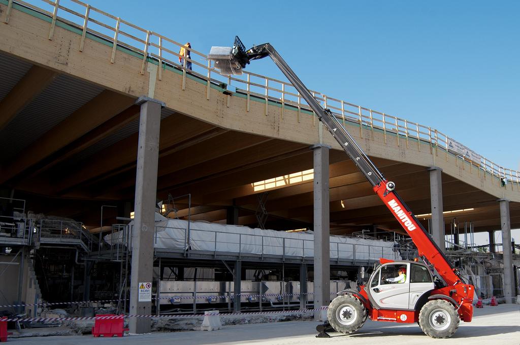 MT 1335, secteur BTP & Construction, Manitou, Marcantoni Fils : votre spécialiste manutention en Corse