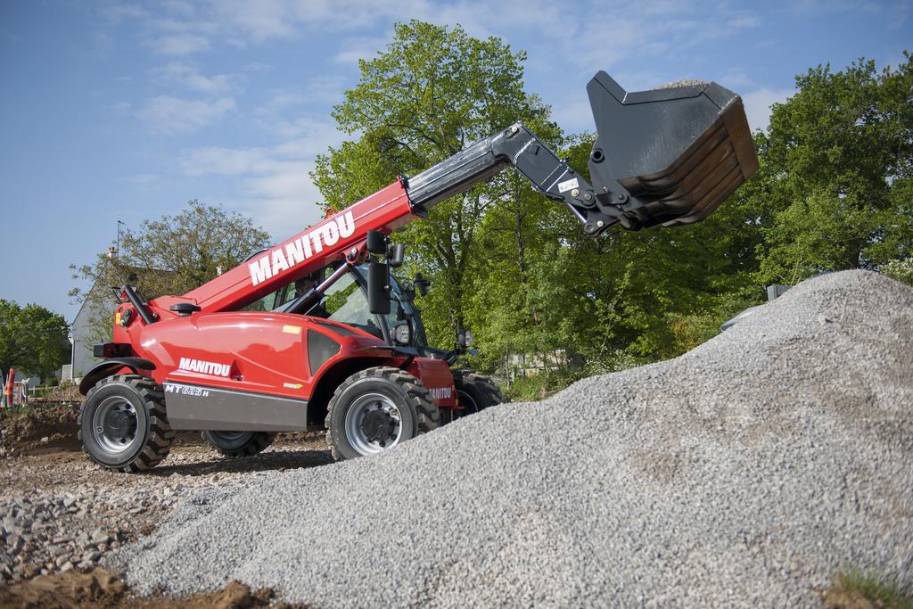 MT 625 H, secteur BTP & Construction, Manitou, Marcantoni Fils : votre spécialiste manutention en Corse